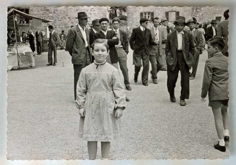 Gabriella in Piazza a Preggio