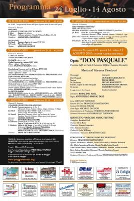 Programma Preggio Music Festival 2010