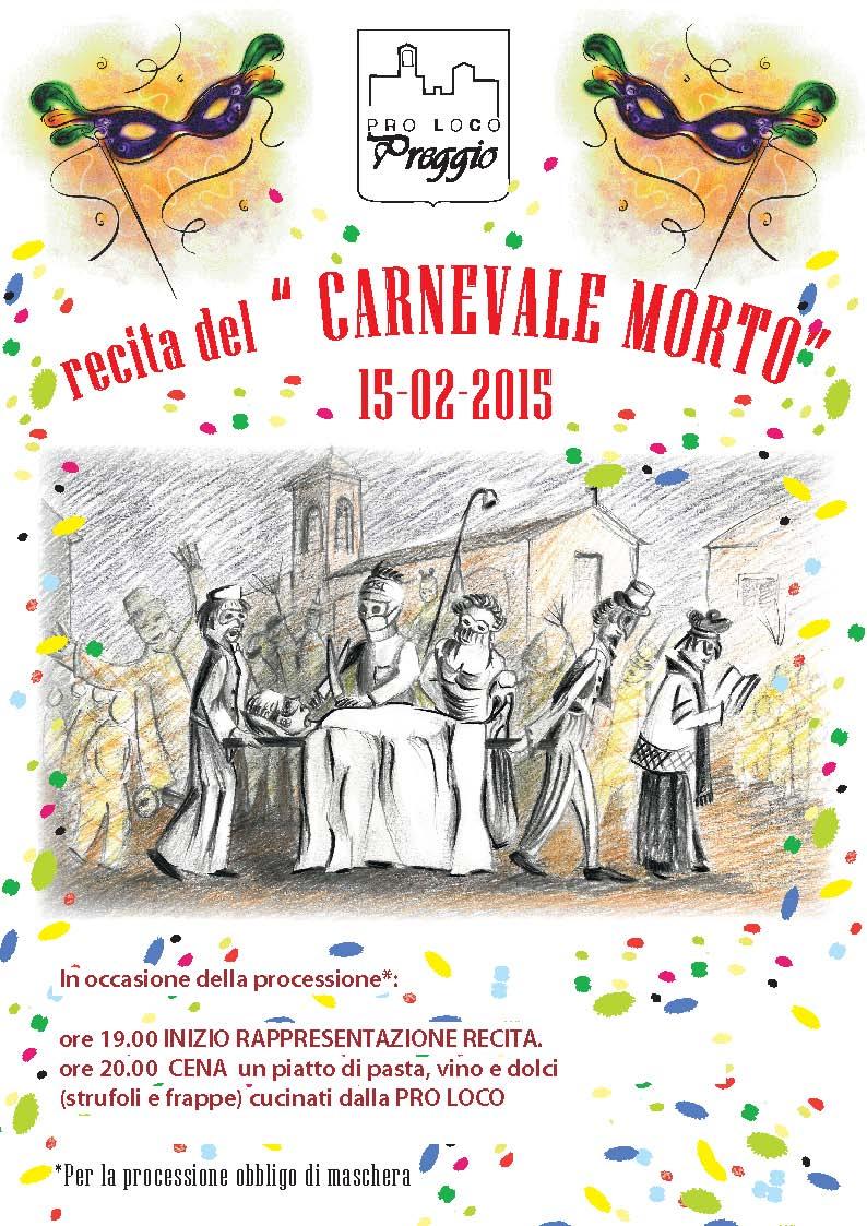 Preggio - Recita del Carnevale Morto 2015