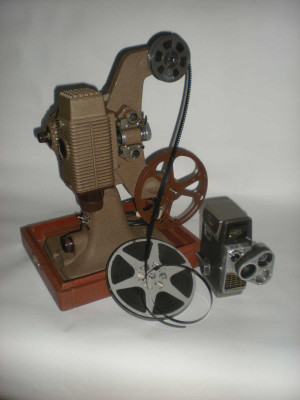 cinepresa e proiettore 8mm