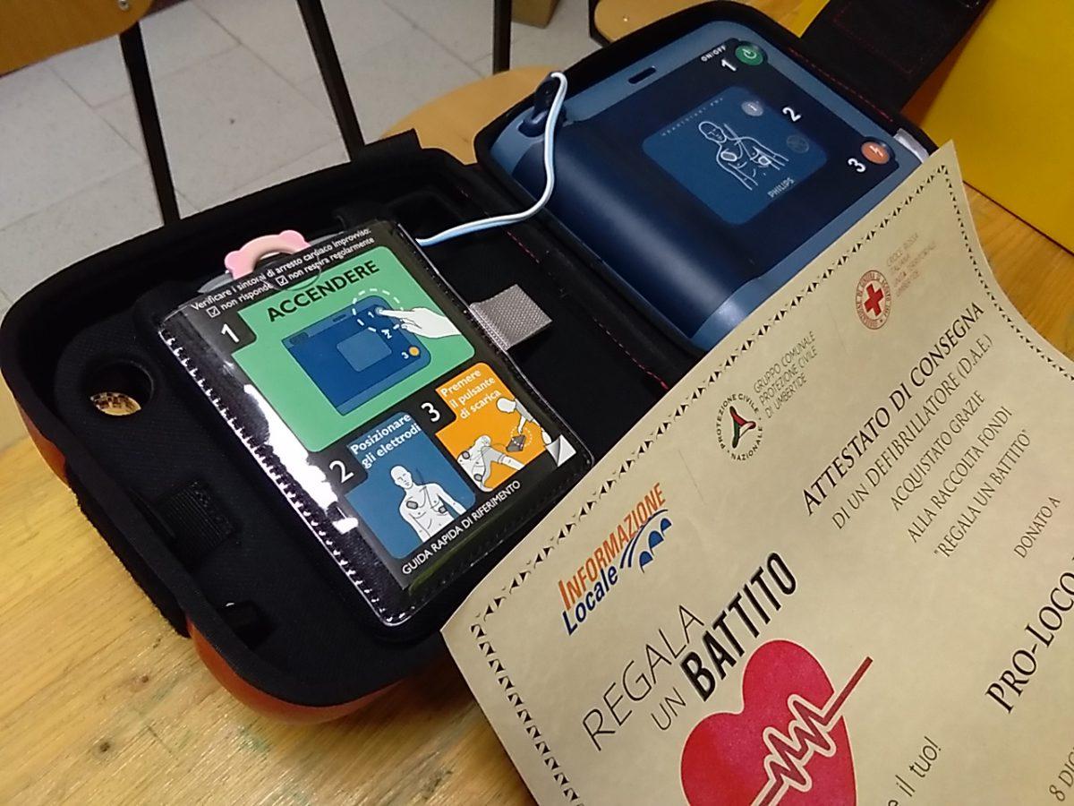 Corso di Primo Soccorso sull'utilizzo del defibrillatore